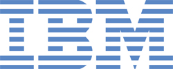 IBM Logo Name famous brand logo design