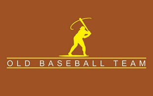 Old Baseball Team Logo