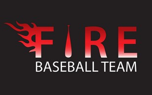 Fire Baseball team Logo