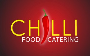 chilli food catering Logo