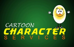 cartoon character services Logo