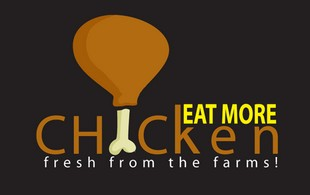Eat More Chicken Logo