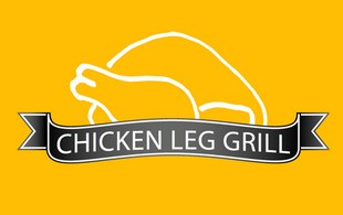 Chicken leg grill Logo