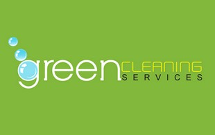 green Cleaning service Logo