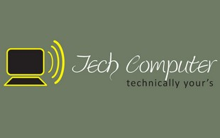 tech Computer technically Logo