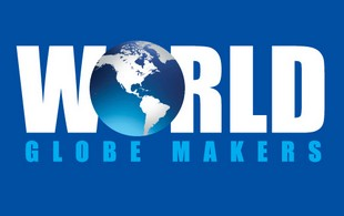 world  Globe makers Logo