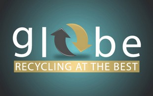Globe Recycling at the best Logo