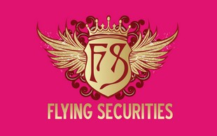 Flying securities SECURITY Logo