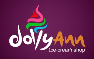 dollyann ice cream Logo