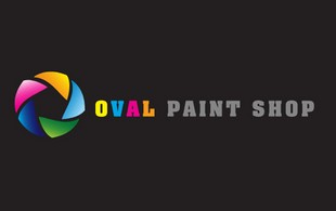 Oval Paint Shop Logo