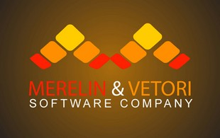 Merelin and vetori SOFTWARE COMPANY Logo