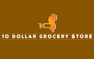 10 dollar grocery STORE  Logo