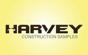 Harvey Construction logo