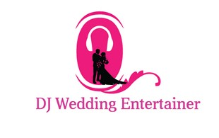 dj wedding entertainer Logo