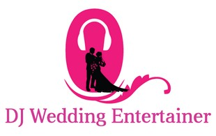 dj wedding logo