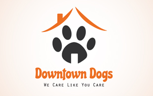 downtown dogs logo