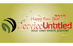happy new year service Logo