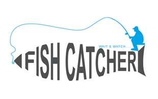 fish catcher logo sample