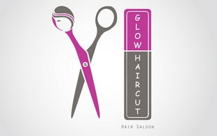 glow haircut logo