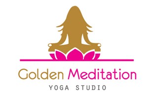 golden meditation Logo