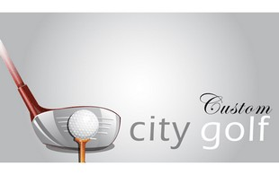 City Golf Custom Logo