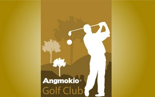 Angmokio Golf club Logo