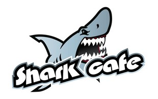 shark cafe Illustrative Logo