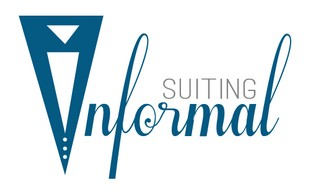 informal suiting logo
