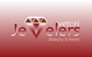 vetori Jewelry beauty is here Logo