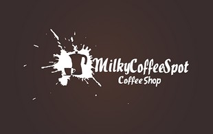 milky coffee spot Logo