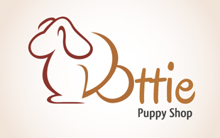 puppy shop logo