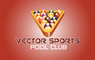 Vector Sport pool club Logo