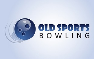 Old sports bowling Logo