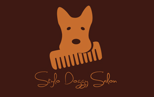 stylo doggy salon pet Logo