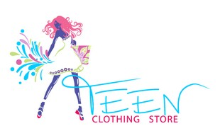 teen clothing store Logo